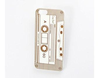 iPhone 7 case, iphone 6s case iphone 6 case iphone 7 plus case iphone 6s plus case iphone 6 plus case White Cassette
