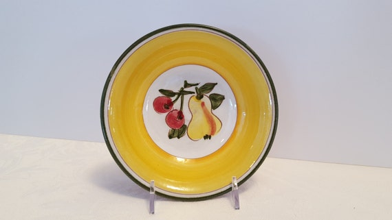 Stangl Della-Ware Festival Fruit Bowl #3677