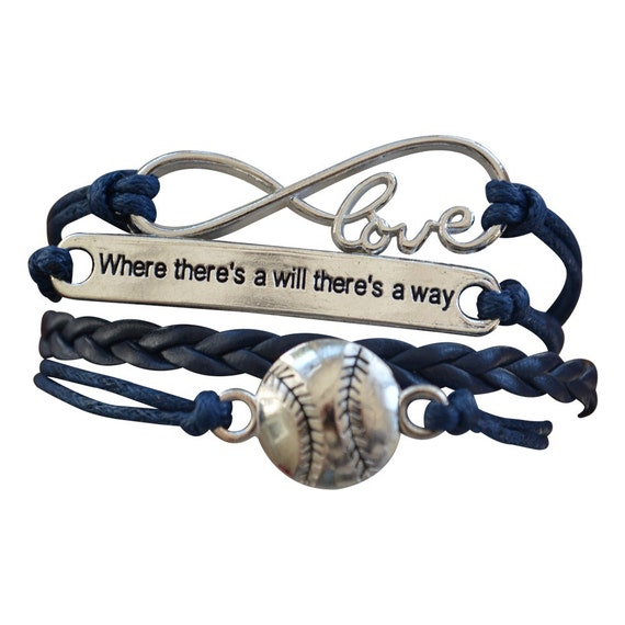Baseball Charm Bracelet: Baseball Jewelry Baseball Bracelet By MyInfinityCollection