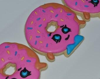 Shopkins Donut Sugar Cookies