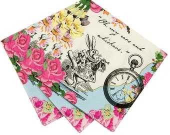 Alice in Wonderland Tea Party Pack