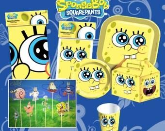 Bob  Sponge Set birthday party