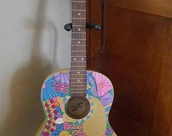 Flower Bouquet Playable Guitar