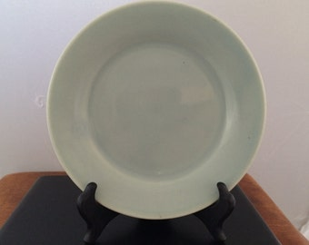 Vintage Bauer Pottery Delph Plainware Bread and Butter Plate
