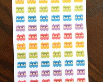 Egg Carton Planner Stickers
