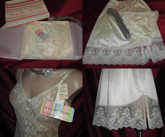 Wedding Lingerie Vanity Fair Nylon Panties By