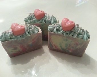 """Handmade soap """" Heliotrope and Lily"""""""
