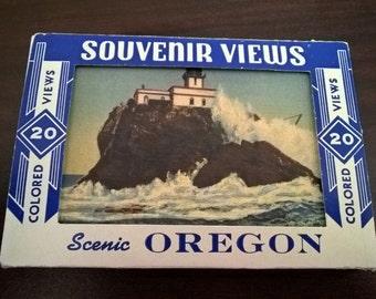 Vintage Set of Oregon Souvenir Views **FREE SHIPPING**