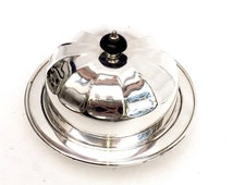 Silver Plate Domed serving dish, Mappin & Webb Ltd London and Sheffield. W27781