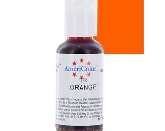 Americolor Gel Color .75 oz Orange
