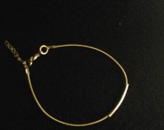 Guitar String Bracelet Silver