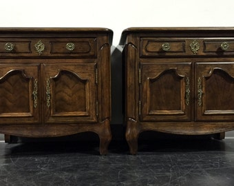 """CENTURY FURNITURE Chermont French Country 27"""" Nightstands - Pair"""