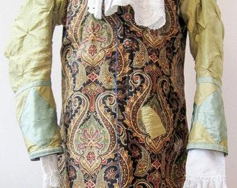 Reversible frock coat