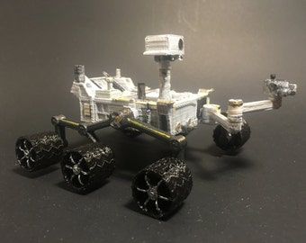 Mars Curiosity Rover Model Mini - 3D printed and hand-painted