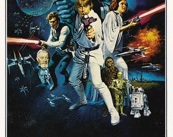 Star Wars Movie Poster Reproduction StarWarsposter09101201