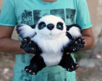 Fantasy Panda - Creepy but Cute Stuffed Animal