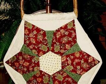 Hexagon Bag - pattern als pdf Download