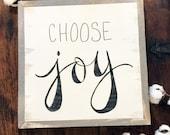 12x12 Choose Joy Hand Pai...