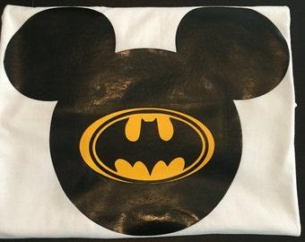 Batman, mickey batman, disneyshirts, disneyland shirt, super hero shirt