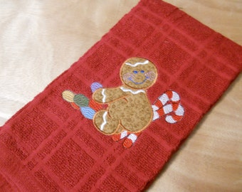 Gingerbread Christmas Kitchen Towel