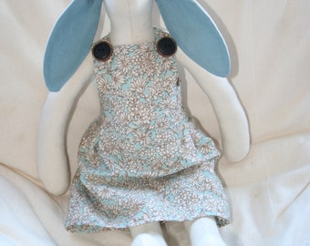 Large Tilda Bunny - Blue