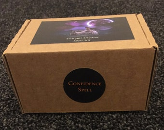 CLEARANCE - Cast Your Own Magic Spell Kit - Confidence Spell