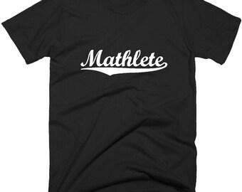 Mathlete T-Shirt, Funny Geek Mathematician Tee Shirt.