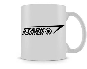 Stark Industries Iron Man Inspired Mug /  Tea Coffee Cup / Gift