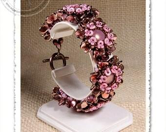 Pyppa  beaded bracelet PDF pattern