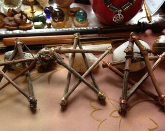 Grapevine Star Ornament Trio(Free Shipping in USA)MWCGVS001