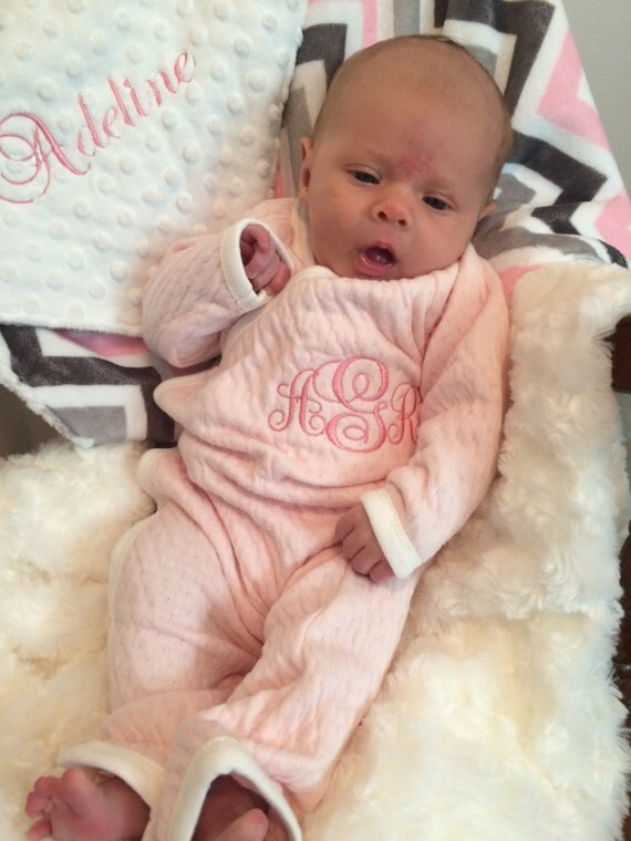 Personalized Baby Girl Going Home Outfit Baby Girl by ...