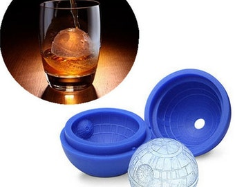 Star Wars Ice Mold  Ice Tray Flexible Silicone Mold DIY Mold Handmade Jewelry Mold Icing Mold Polymer Clay Resin Mold