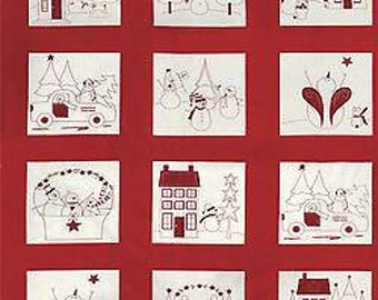Winter Wonderland Christmas Panel
