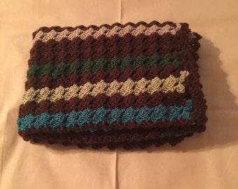 Crochet Baby Blanket, Stroller Blanket