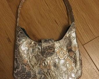 Smaller brocade handbag