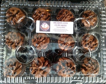 Triple Chocolate Cupcakes, 1 dozen, Local Only to Monaca, PA