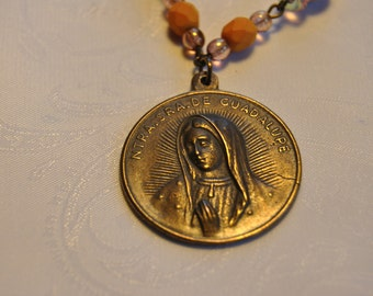 Our Lady of Guadalupe Necklace Set
