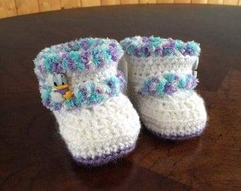 Baby crochet Bootie