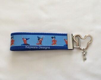 Sorcerer Mickey Key Fob Keychain