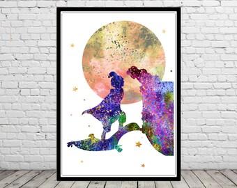 Jasmine and Aladdin inspired, Jasmine and Aladdin,Jasmine Princess inspired, Jasmin, Aladdin, from European fairy tales (1035b)