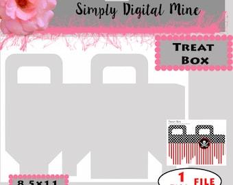 YOU Design!!! Treat Box Templates!!