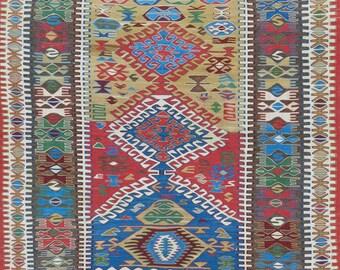 Vintage Anatolian Kilim 1.51m x 1.18m