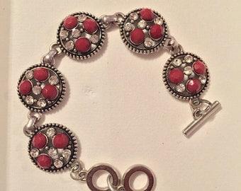 1 piece disc bracelet