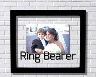 Ring Bearer Frame - Floating Frame - Photo Picture Frame - Wedding Ceremony