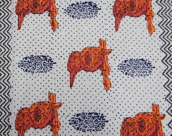 "Decorative  Apparel Fabric Material Dressmaking Fabric Cotton Fabric 41"" Width Bird Print White Quilt Apparel Dressmaking By 1 Yard ZBC3444"