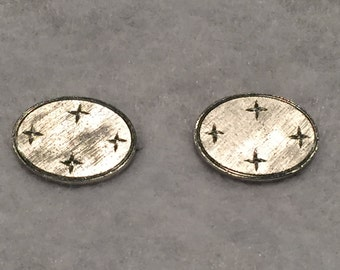 Sterling Cuff Links - CA 1950's - Item #5
