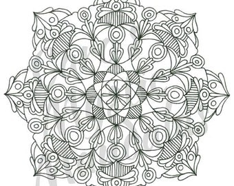 """Coloring Page: """"ATOMICA"""""""