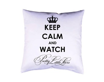 """Pillow case 16"""" Pretty Little Liars cushion cover with print on both sides optional with filling"""