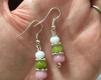 Semi precious Gemstone earrings