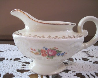 Homer Laughlin Creamer Marigold - Item #1321